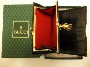 Stunning Boxed Vintage Gucci Ladies Wallet
