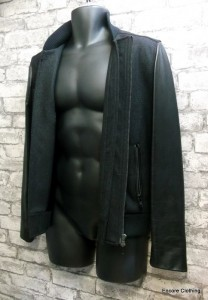 The Kooples - wool & leather jacket - sz small/36 - 350.00